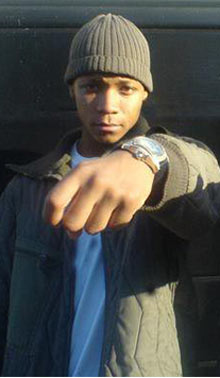 Marvin Henry, 17, who was shot dead in Mill Hill