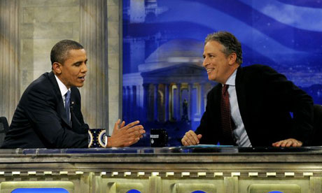 Obama on Daily Show with Jon Stewart