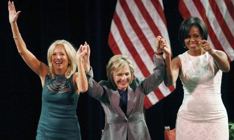 Michelle Obama, Barbara Boxer, Jill Biden