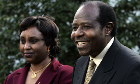 The Rwandan hotel manager Paul Rusesabagina denies sending money to fund Rwandan opposition
