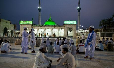 Data Ganj Baksh shrine in Lahore, Pakistan