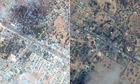 The Afgooye corridor, Somalia