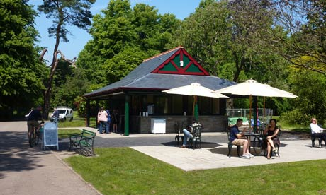 bute park kiosk