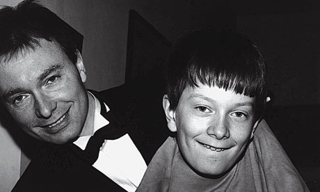 Tony Parsons with son Bobby