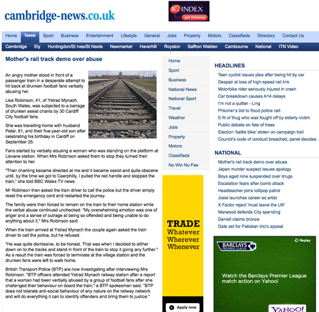 Cambridge News using Press Association