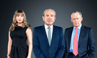 Alan Sugar, Karen Brady and Nick Hewer.