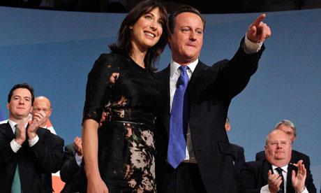 David Cameron, Samantha Cameron