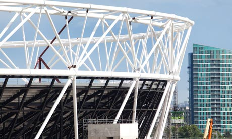 The Olympic 2012 stadium