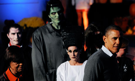 Barack Obama, Halloween 2010