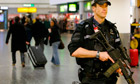 Armed police at Gatwick