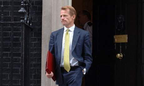 David Laws, Chief Secretary to the Treasury.