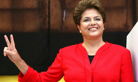 Dilma Rousseff, president-elect of Brazil