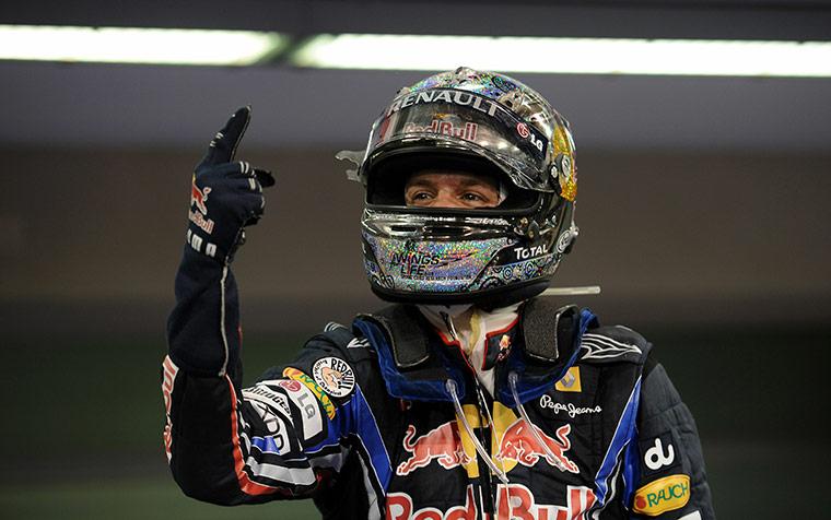 motor sport: Red Bull's German driver Sebastian Vettel
