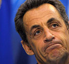 Nicolas Sarkozy at the G20 summit in Seoul