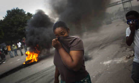 Haiti protestors attack UN peacekeepers
