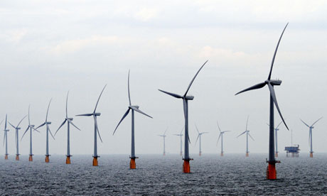 Thanet wind farm opened