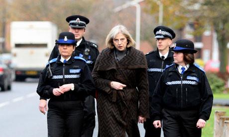 Theresa May visits Essex