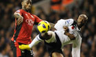 William Gallas, the Spurs defender, faces former club Arsenal