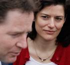 Miriam González Durántez and Nick Clegg.