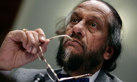 Rajendra Pachauri, chairman of the United Nation's Intergovernmental Panel on Climate Change. Click to enlarge. (Credit: Chip Somodevilla/Getty Images)