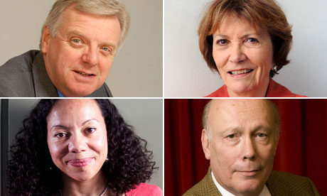 Michael Grade, Joan Bakewell, Oona King, Julian Fellows