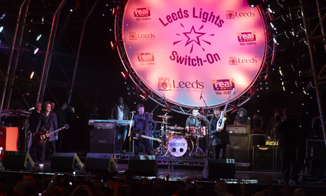 leeds christmas lights mcfly