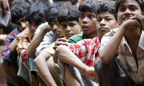 Indian child labourers