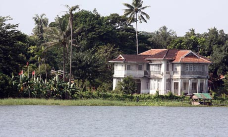 Aung San Suu Kyi's house