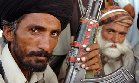 A tribesman loyal to the Bugti clan, leaders of an insurgency seeking autonomy for Balochistan