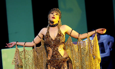 Lisa Saffer in ENO's version of Alban Berg's Lulu. Photograph: Tristram Kenton