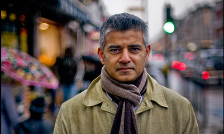 Sadiq Khan.