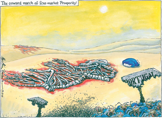 27.11.2010 Martin Rowson cartoon