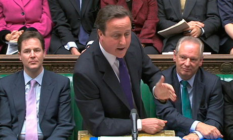 David Cameron PMQs 24 November bank pay disclosure