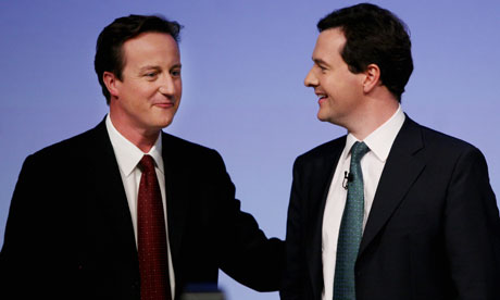 david cameron funny. David Cameron and George