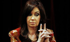 Argentina's president, Cristina Kirchner