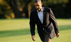Barack Obama returns to the White House after campaigning for Democrat candidates in the US midterms