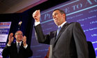 John Boehner gives a thumbs-up gesture