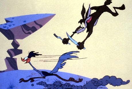 ROAD RUNNER AND WILE E COYOTE