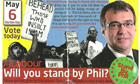 One of Phil Woolas's controversial campaign leaflets.