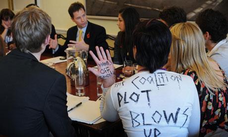 Nick Clegg university fees