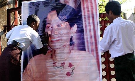Aung San Suu Kyi poster