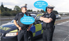What police might say on Coppers.