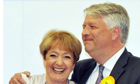 Margaret Hodge and Dominic Carman Barking 2010