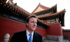 David Cameron visits China