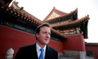David Cameron in China (2007)