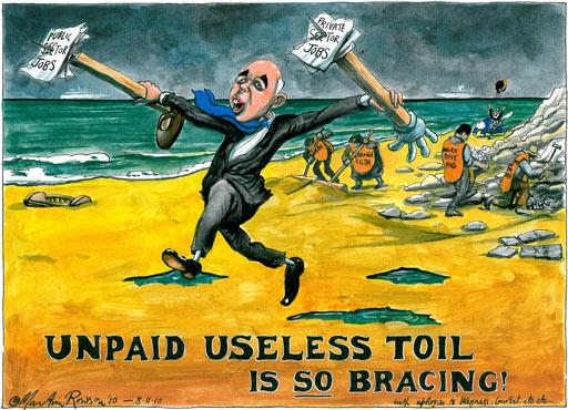 08.11.2010 Martin Rowson cartoon