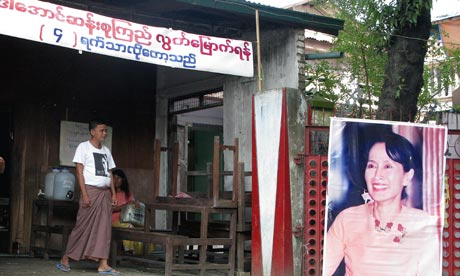 Burma: Aung San Suu Kyi poster