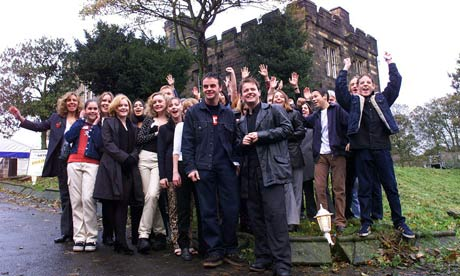 Members of the Byker Grove cast