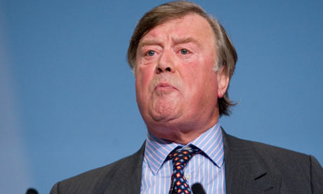 Kenneth Clarke, the justice secretary