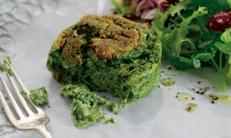 twice baked spinach and cheddar souffle easy on the cook easy on the ...